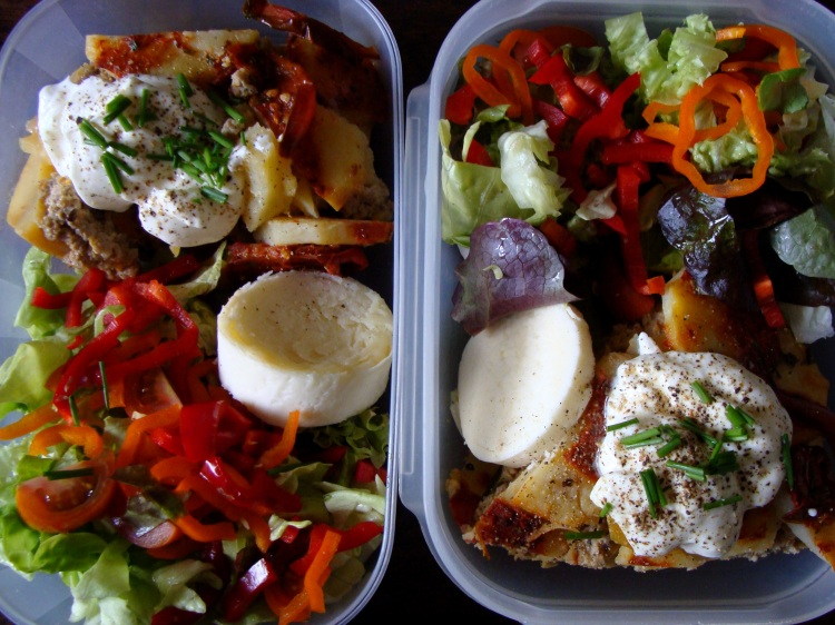 Moussaka lunch box