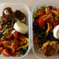 A vegetarian lunch
