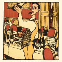 The Champagne- Bruno Paul (1874-1968)