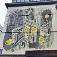 Brasserie Taverne: street art