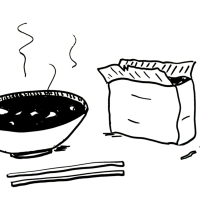 Food in books, ep. 5: In the miso soup, by Ryū Murakami: The comfort food theory.