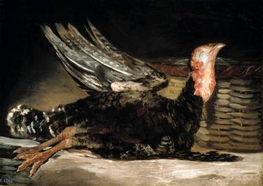 Goya dead turkey